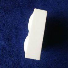 下料溜槽耐磨陶瓷衬板 规格:150*100*10 耐磨损 抗冲击 淄博厂家供应
