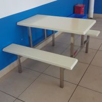 珠海4人饭堂餐桌 快餐桌椅价格