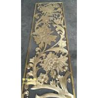 锢雅精雕GY-PF纯铜雕刻屏风,铜板镂空花格