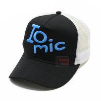 厂家定做字母立体刺绣网帽 户外防晒纯棉遮阳帽 棒球网帽定制LOGO
