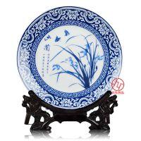 青花瓷盘定制陶瓷纪念盘