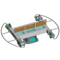 松下安川机器人配套焊接系统水平回转系统焊接系统专业调试安装培训