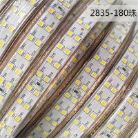 厂家直销高压变色三色调光双色led灯带2835调色亮度遥控客厅变光软灯带