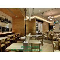 深圳北欧主题茶餐厅 咖啡厅 西餐厅奶茶店餐馆实木桌椅组合厂家定制