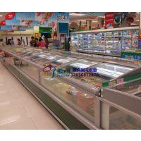 超市生鲜食品速冻岛柜价格,风冷无霜防雾冷冻柜厂家,徽点定做冰淇淋雪糕柜