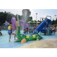 广州润乐水上设备-鳄鱼喷水