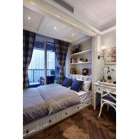 明居装饰案例美式装修风格三室一厅120平米