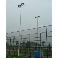 云南足球场灯杆 二节式高杆灯 厂家直销15米照明灯杆八角形高杆灯