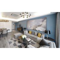 ◆美窝装饰◆ 城发绿园 120平米 极客·简美 实景效果 东鹏地砖