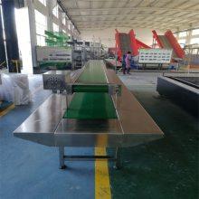 双侧皮带工作台流水线 自动化输送设备 输送机传送带 电子件流水线 组装包装线 德隆定制