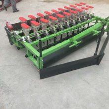 富兴四轮拖拉机带动小麦玉米旱稻谷子播种机 圆盘开沟谷子 蔬菜施肥播种机