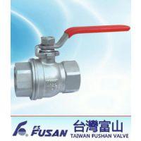 FS-312台湾富山不锈钢二片式球阀