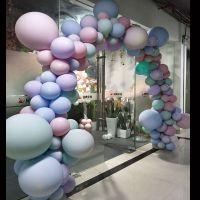 「花样纸艺」工作室,提供福州地区气球拱门,气球造型,气球装饰制作,可以先报价,预付定金后上门安装,价