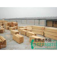 河源市建筑木方 工地模板 桥梁木板厂家