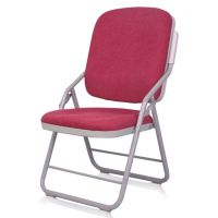厂家直销高档折叠教会椅 布艺礼堂椅 带写字板培训椅 教堂椅 家用椅