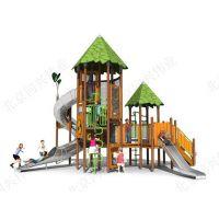 北京同兴伟业专业供应大型组合滑梯,动物造型滑梯,儿童绳网攀爬