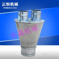 长赢管道配件分口器镀锌材质不变形304不锈钢焊接来厂看货批发