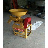 家用碾米机小型全自动大米脱壳机220v多功能剥壳机磨粉打米组合机