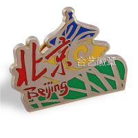大量定制生产马口铁徽章-马口铁胸章-广告礼品胸章-北京胸牌-北京徽章