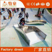 供应户外游乐园滑滑梯 组合滑梯定制 游乐场儿童玩具设备厂家