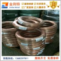 高精H85黄铜线 环保T2紫铜线 广东铜材供应商