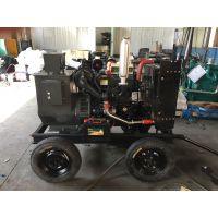 潍柴40千瓦 WP2.3D48E200柴油发电机组移动拖车