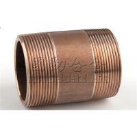 铜镍双外螺纹接头 C70600铜镍管道配件厂家 耐腐蚀 塑性高 可避免应力腐蚀开裂