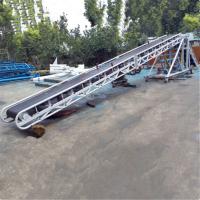 港口豆粨饲料输送机 兴亚PVC格挡式输送机厂家生产制作