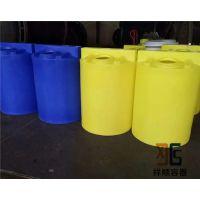 厂家直销500L塑料搅拌桶 500公斤药剂桶 PE投药桶 加药箱