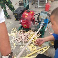 玉米空心棒膨化机 杂粮麻花型膨化机 七用型爆米花设备价格