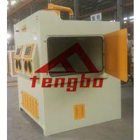 供应杭州 腾博 TB-SN850 除锈 去氧化皮 杂质 手动喷砂机,手动转台喷砂机厂家