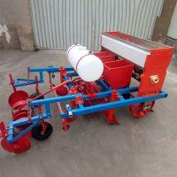 拖拉机花生播种机价格 家用花生施肥精播机 佳鑫播果子米的机器