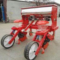 玉米黄豆播种机厂家 佳鑫手推汽油精播机 拖拉机油菜精播机