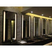 酒店洗手台不锈钢镜框可颜色任选,异形不锈钢镜框各种造型都可定做厂家