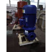 二极能效管道泵 ISG32-100 0.55KW 山东济南市众度泵业暖气管道泵 铸铁