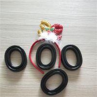 吸音海绵在辉晟海绵公司可发订制80ATPU吸塑热压成型填充液体硅胶皮耳套