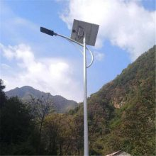 GG-L-G路灯杆 双头灯杆 杆高5米20W 灯盘尺寸262*260