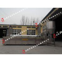 武汉锅巴油炸生产线 多功能油炸生产线