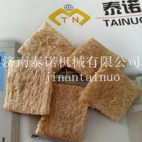 手撕素牛排加工设备 拉丝蛋白素肉生产线 大豆拉丝蛋白机