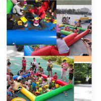 去哪做充气沙滩池设备玩具 小孩集体沙滩池玩具定做 充气娱乐沙滩池工厂电话