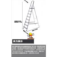广州腾达梯博士DR.LADDER2018火爆产品香港进口家用铝合金折叠功夫凳