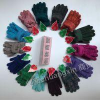 东北羊绒手套 厂家直销  津竹羊绒手套 魔术手套 创新商贸一等品