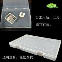 厂家推出新款塑料文件整理五金零件多功能日用收纳产品包装空盒