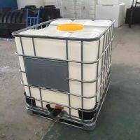厂家供应塑料吨桶 安装80球阀大口径 耐酸碱吨桶
