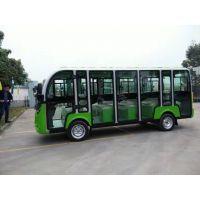 旅游观光车 十四座封闭式旅游观光车江西幸福绿通新能源电动车