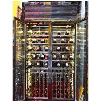 欧式不锈钢酒柜,恒温不锈钢酒柜