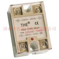 100A无锡天豪固态继电器SSR48-100A天豪继电器THE单相交流继电器