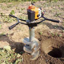 植树造林专用挖坑钻洞机 温室大棚立柱打孔机 多功能挖坑机