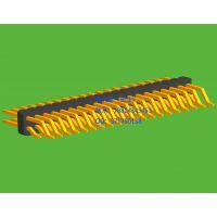 1.27mm间距双排SMT卧式表贴板排针系列