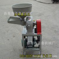 圣鲁20型磨面机 去皮磨面机 多功能小麦高粱磨粉机